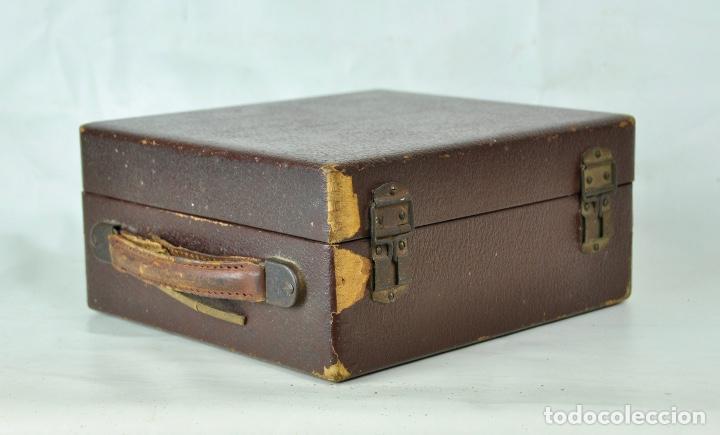 Antigüedades: Máquina taquigrafía Stenotype Grandjean año 49 - Foto 11 - 185709793