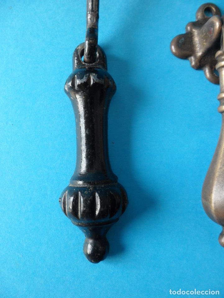Antigüedades: Antiguos Tiradores de Puerta, Cajones o Armario - Foto 2 - 185743440