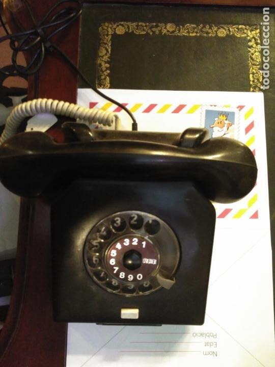 Teléfonos: ANTIGUO TELÉFONO ART DECO FABRICADO EN ALEMANIA TODO ORIGINAL RARO FUNCIONANDO - Foto 3 - 185755680