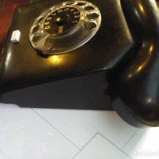 Teléfonos: ANTIGUO TELÉFONO ART DECO FABRICADO EN ALEMANIA TODO ORIGINAL RARO FUNCIONANDO. Lote 185755680