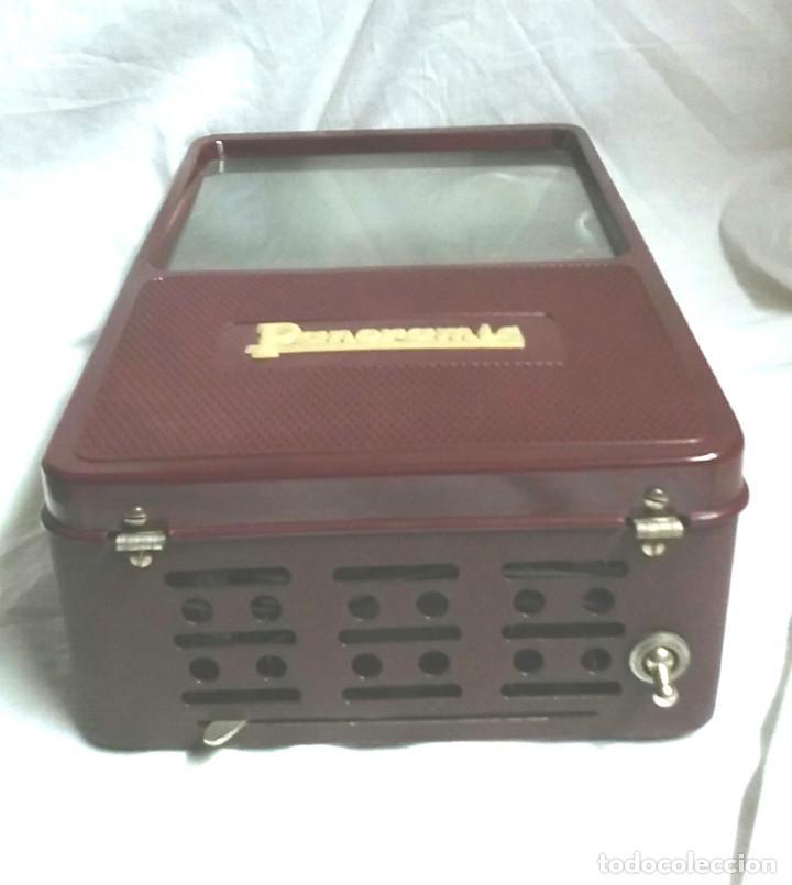 Antigüedades: Visor Panorámic, baquelita en caja a estrenar. Med. 32 x 12 x 25 cm - Foto 4 - 185771238