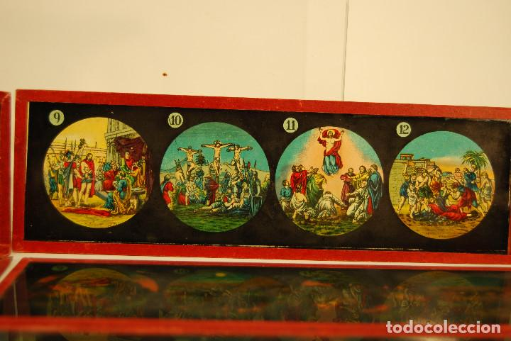 Antigüedades: placas para linterna mágica - Foto 2 - 185773390