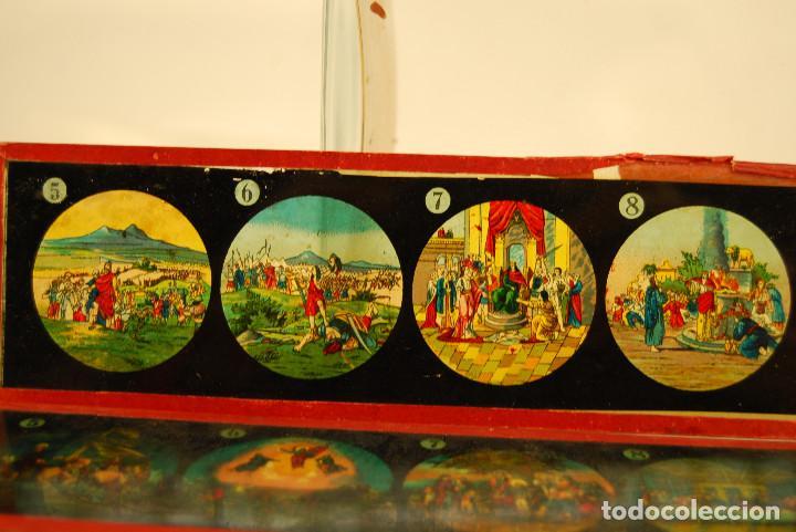 Antigüedades: placas para linterna mágica - Foto 3 - 185773390