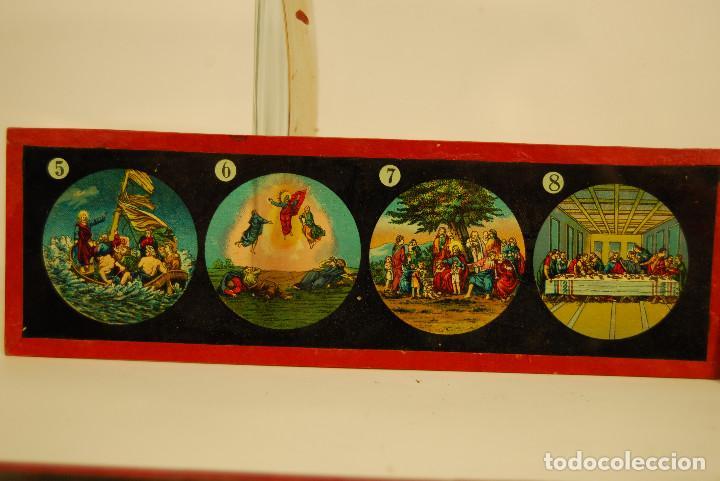 Antigüedades: placas para linterna mágica - Foto 4 - 185773390