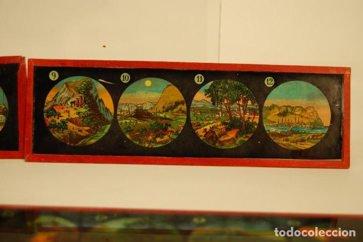 Antigüedades: placas para linterna mágica - Foto 5 - 185773390