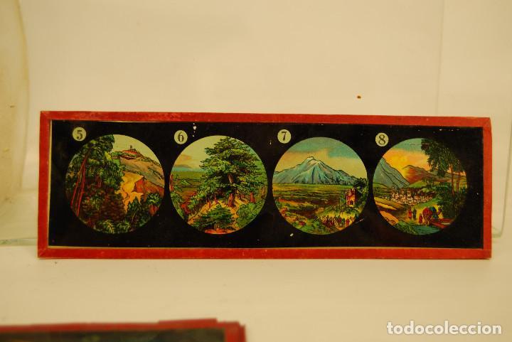 Antigüedades: placas para linterna mágica - Foto 6 - 185773390