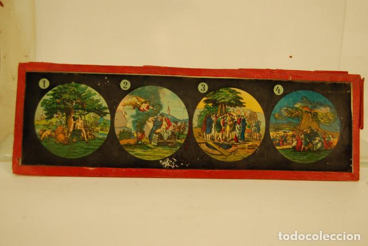 Antigüedades: placas para linterna mágica - Foto 7 - 185773390