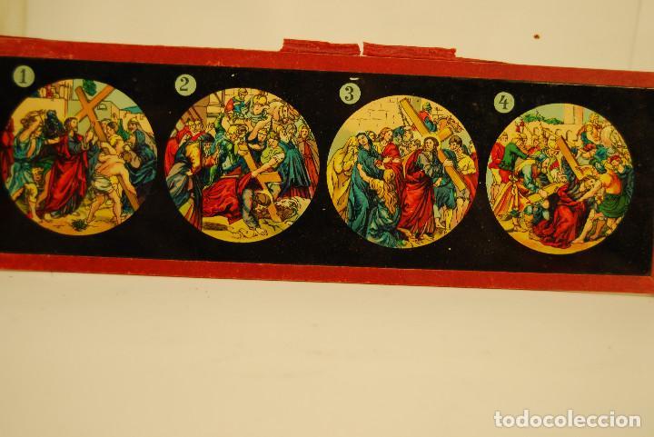 Antigüedades: placas para linterna mágica - Foto 9 - 185773390