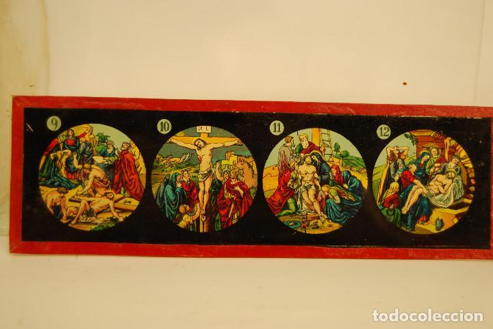 Antigüedades: placas para linterna mágica - Foto 11 - 185773390