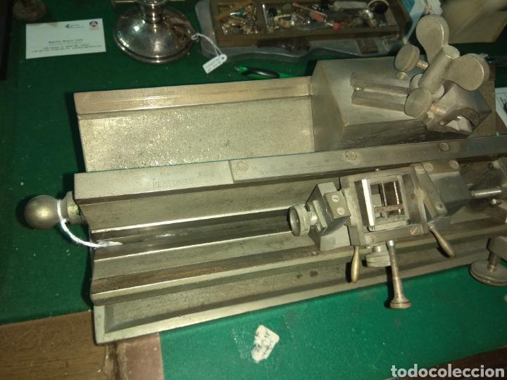 Antigüedades: Antiguo Microtomo de Desplazamiento Heidelberg - Foto 3 - 185931398