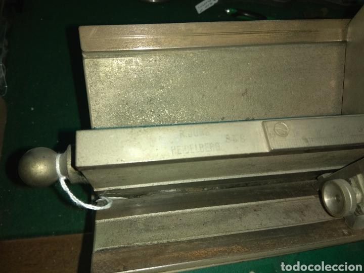 Antigüedades: Antiguo Microtomo de Desplazamiento Heidelberg - Foto 6 - 185931398