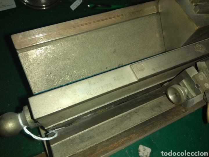 Antigüedades: Antiguo Microtomo de Desplazamiento Heidelberg - Foto 13 - 185931398