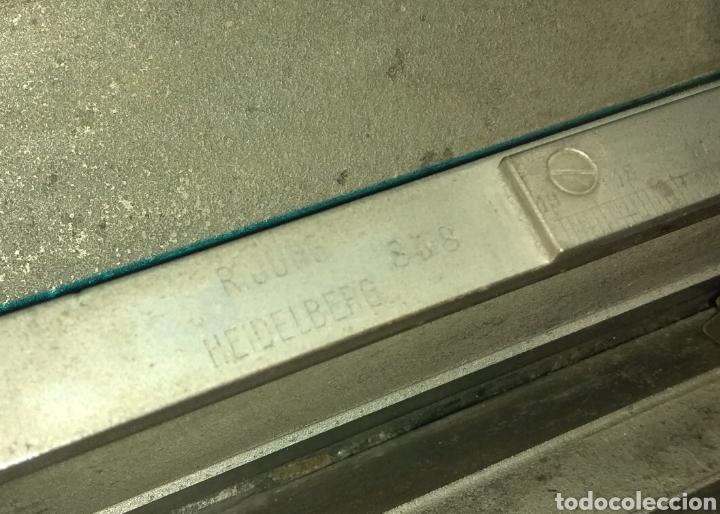 Antigüedades: Antiguo Microtomo de Desplazamiento Heidelberg - Foto 14 - 185931398