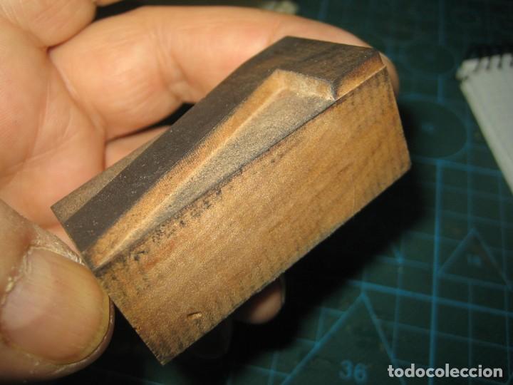 Antigüedades: IMPRENTA LETRA DE MADERA MUY ANTIGUA - LETRA 7 - Foto 3 - 185957831