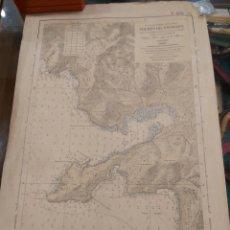 Antigüedades: CARTA NAUTICA. PUERTO DE ANDRAITX. Lote 185983147