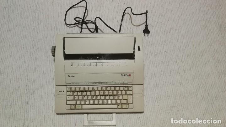Antigüedades: Olympia Prestige máquina de escribir electrónica años 80 COMO NUEVA Y FUNCIONANDO!!!! - Foto 2 - 186064051