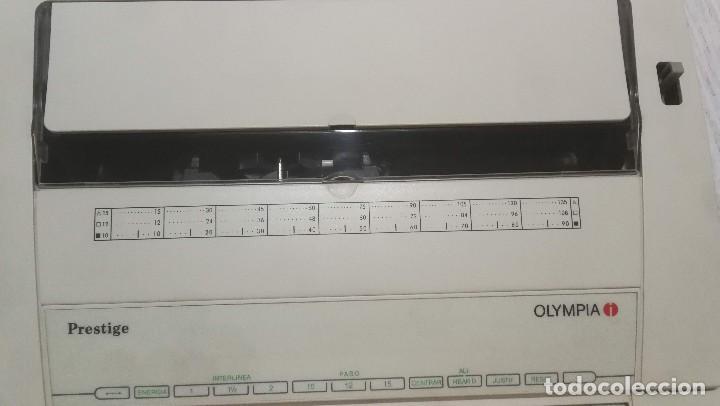 Antigüedades: Olympia Prestige máquina de escribir electrónica años 80 COMO NUEVA Y FUNCIONANDO!!!! - Foto 4 - 186064051