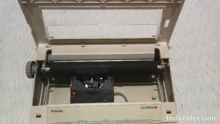 Antigüedades: Olympia Prestige máquina de escribir electrónica años 80 COMO NUEVA Y FUNCIONANDO!!!! - Foto 14 - 186064051