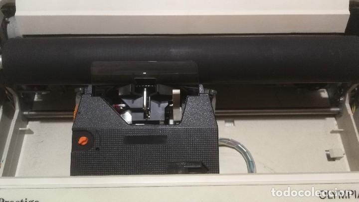 Antigüedades: Olympia Prestige máquina de escribir electrónica años 80 COMO NUEVA Y FUNCIONANDO!!!! - Foto 15 - 186064051