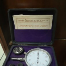 Antigüedades: MEDIDOR RPM ANALOGO. Lote 186074300