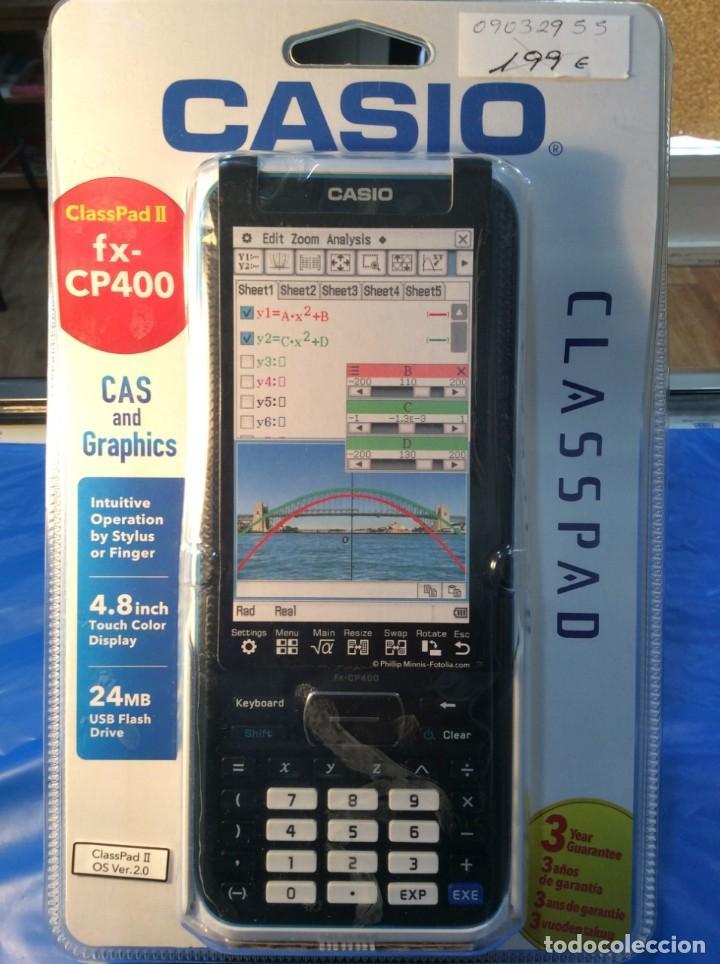 CALCULADORA CASIO CLASSPAD FX 400 ¡¡ LO MÁXIMO !! ¡¡NUEVA!! (VER FOTOS) (Antigüedades - Técnicas - Aparatos de Cálculo - Calculadoras Antiguas)