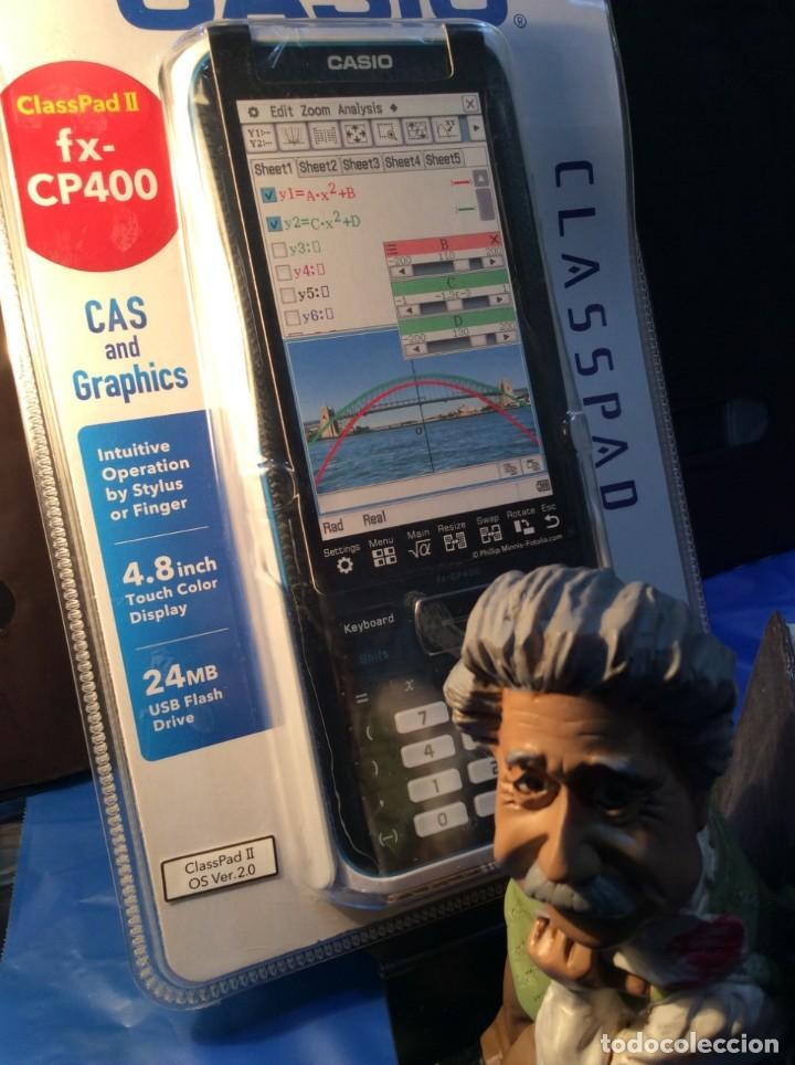 Antigüedades: CALCULADORA CASIO CLASSPAD FX 400 ¡¡ LO MÁXIMO !! ¡¡NUEVA!! (VER FOTOS) - Foto 4 - 186094816