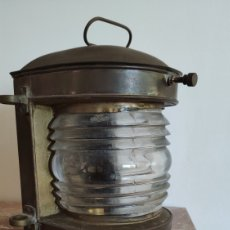 Antigüedades: FAROL BARCO ANTIGUO. Lote 186123293
