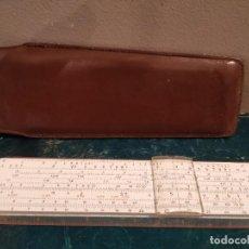 Antigüedades: REGLA DE CALCULO ARISTO DARMSTADT NR 867 U. Lote 186136161