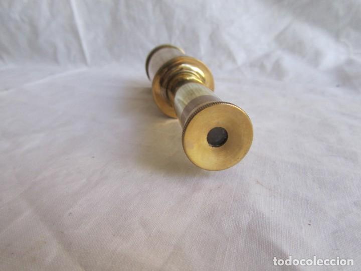 Antigüedades: Pequeño catalejo de bronce - Foto 4 - 202106447