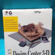 Antigüedades: PROGRAMA DE DISEÑO 3D - *KEY DESIGN CENTER 3D* ... PARA WINDOWS 1.0 Y 95.. Lote 186189397