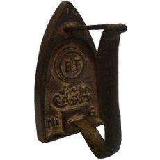 Antigüedades: PLANCHA DE HIERRO FUNDIDO. Lote 186243935