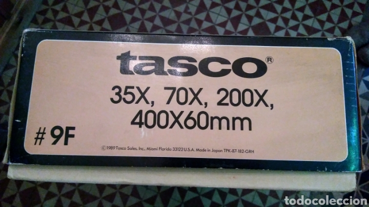 Antigüedades: TELESCOPIO TASCO - Foto 5 - 186256716