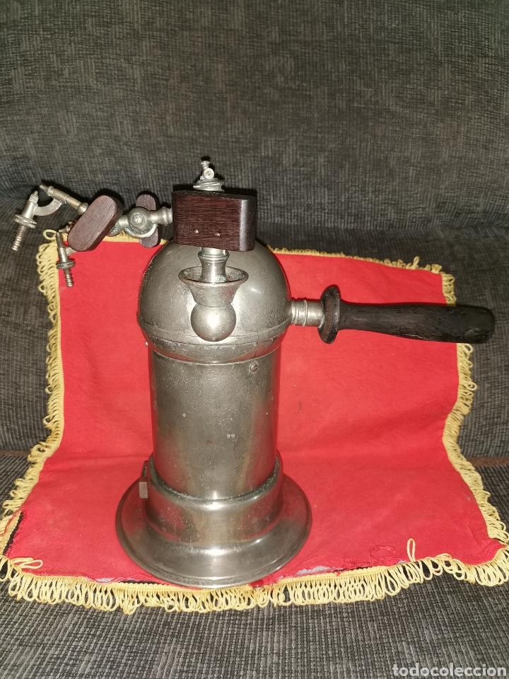 Antigüedades: Spray de vapor carbónico tipo Lister, principios del siglo XX - Foto 2 - 186259186