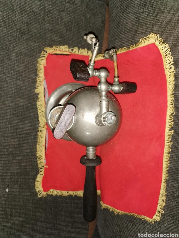 Antigüedades: Spray de vapor carbónico tipo Lister, principios del siglo XX - Foto 3 - 186259186