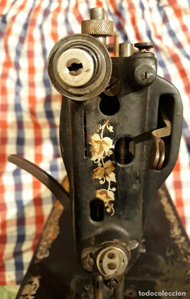 Antigüedades: Máquina de coser Wertheim Rápida - Foto 3 - 186292393