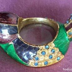 Antigüedades: ANTIGUA LUPA CON FORMA DE AVE. Lote 186297368