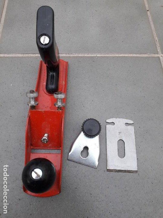 Antigüedades: cepillo de carpintero fischer darex 336T, con cuchilla de 4,5cm aprox (23cm aprox de largo) - Foto 7 - 186329798