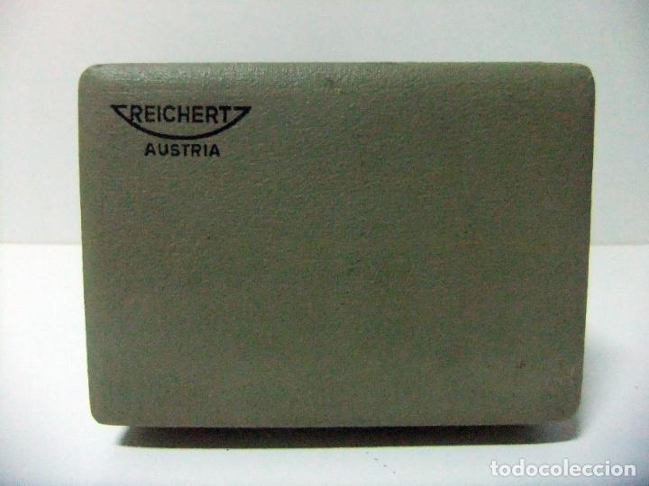 Antigüedades: ACCESORIO MICROSCOPIO REICHERT AUSTRIA Nº 57 180 CON CAJA - ÓPTICA LENTE LENTES ÓPTICO BOX BOXED - Foto 4 - 186338361
