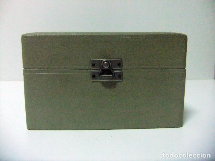 Antigüedades: ACCESORIO MICROSCOPIO REICHERT AUSTRIA Nº 57 180 CON CAJA - ÓPTICA LENTE LENTES ÓPTICO BOX BOXED - Foto 12 - 186338361
