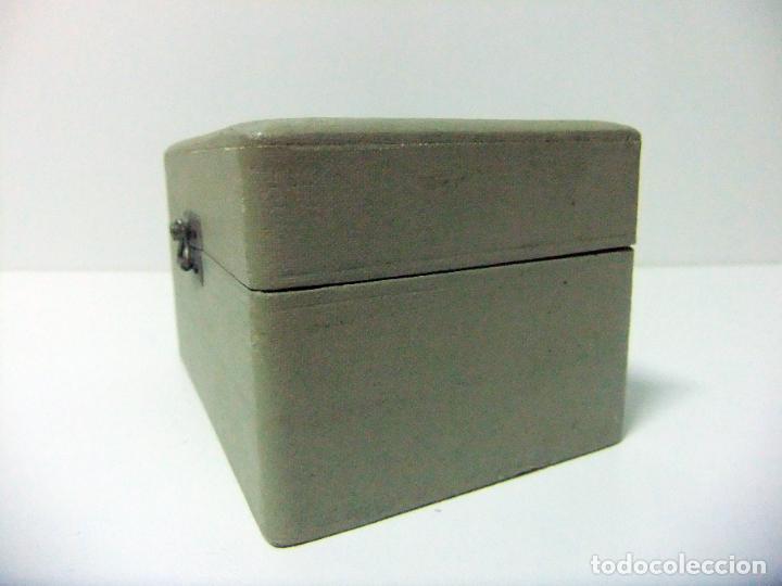 Antigüedades: ACCESORIO MICROSCOPIO REICHERT AUSTRIA Nº 57 180 CON CAJA - ÓPTICA LENTE LENTES ÓPTICO BOX BOXED - Foto 14 - 186338361