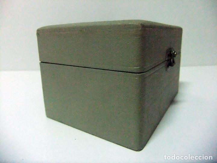 Antigüedades: ACCESORIO MICROSCOPIO REICHERT AUSTRIA Nº 57 180 CON CAJA - ÓPTICA LENTE LENTES ÓPTICO BOX BOXED - Foto 15 - 186338361