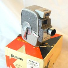 Antigüedades: ANTIGUA CÁMARA TOMAVISTAS DE CINE KEYSTONE MODEL K-20 X TWENTY. Lote 186347266