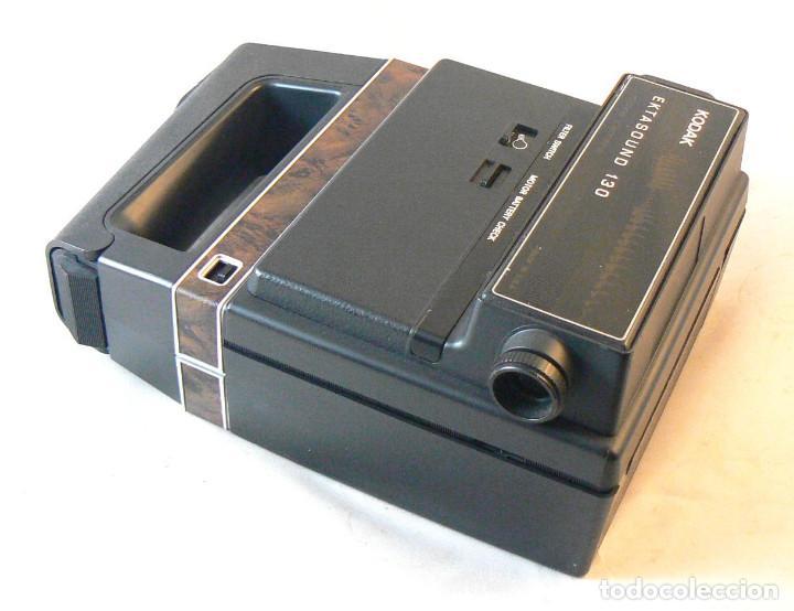 Antigüedades: Antigua cámara tomavistas de cine Super 8 sonora Kodak Ektasound 130 - Foto 6 - 186348062