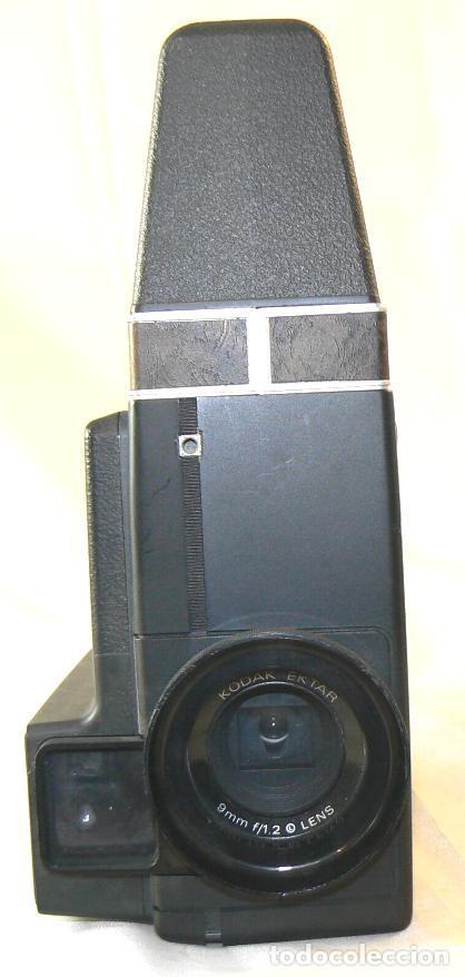 Antigüedades: Antigua cámara tomavistas de cine Super 8 sonora Kodak Ektasound 130 - Foto 8 - 186348062