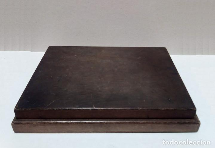 Antigüedades: Caja de Madera - Filetes de Impresión para Imprenta - Marca Perfostrip - Foto 3 - 186349032