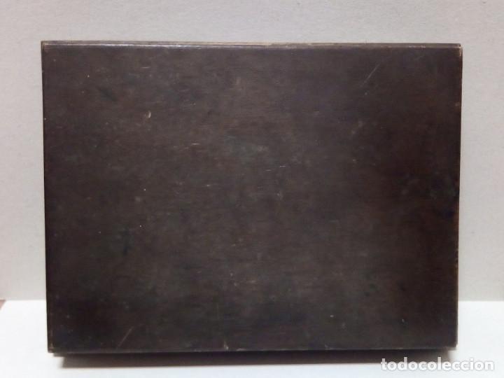 Antigüedades: Caja de Madera - Filetes de Impresión para Imprenta - Marca Perfostrip - Foto 7 - 186349032