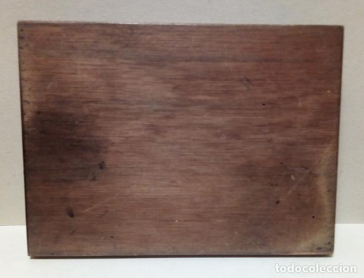 Antigüedades: Caja de Madera - Filetes de Impresión para Imprenta - Marca Perfostrip - Foto 8 - 186349032