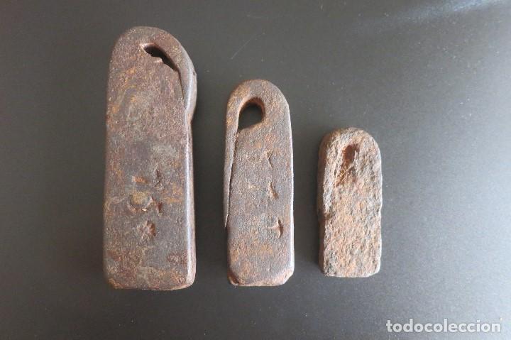 PESAS CASTELLANAS ANTIGUAS (Antigüedades - Técnicas - Medidas de Peso - Ponderales Antiguos)