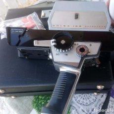 Antigüedades: TOMAVISTAS FILMADORA SUPER 8 BOLEX 155 MACROZOOM. FABRICADA EN SUIZA. Lote 186443582