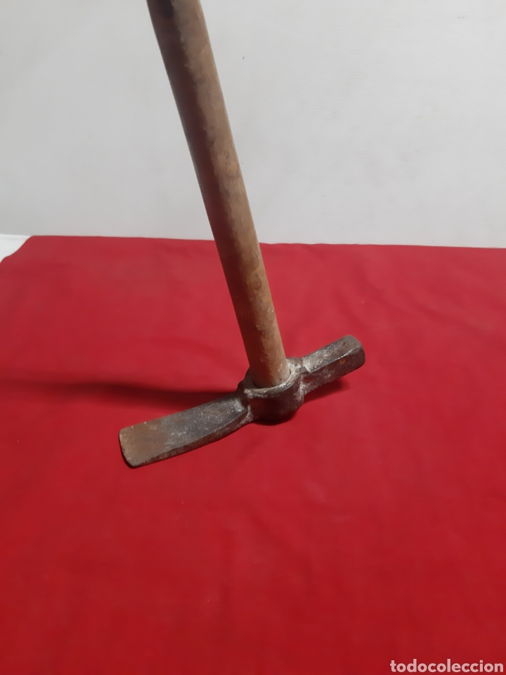 Antigüedades: Antigua martilla de albañilería - Foto 3 - 186447430